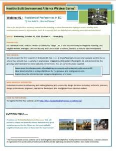PHSA Webinar Flier