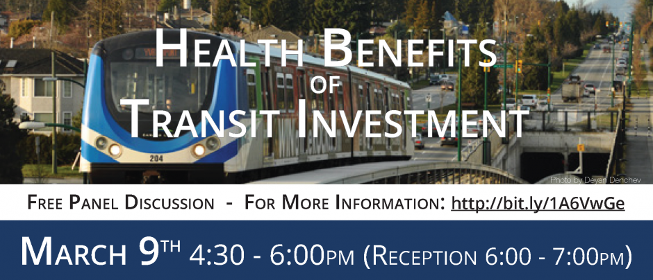 Health Benefits of Transit Investment (cover)